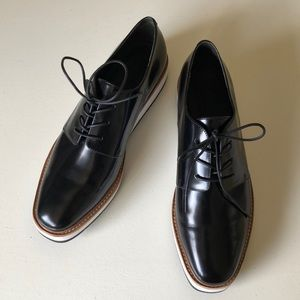 Vince Reed  Platform Oxford Lace Up Shoes 7.5